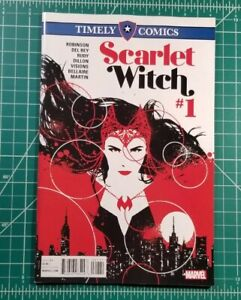 Timely Comics Scarlet Witch #1 (2016) VF/NM 1-3 Marvel Aja Cover! WandaVision