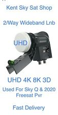 More details for double output wideband lnb with level indicator compatible for q