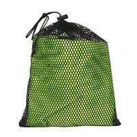 2pcs Mesh Drawstring Bag Travel Portable Sundries Kitchen Organizer With Handle