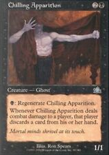 4x MTG: Chilling Apparition - Black Uncommon - Prophecy - PCY - Magic Card