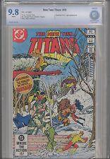 New Teen Titans #19 CBCS 9.8 DC 1982 Comic: Make an Offer! Hawkman