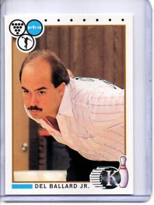 1990 PBA BOWLING CARD #56 DEL BALLARD JR. (HALL OF FAMER)