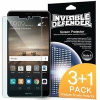 Huawei Mate 9 Screen Protector | Ringke [Invisible Defender] Clear Film [4 Pack]