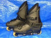 Vintage Rollerblade Inline Aggressive Grinding Skates Size 9 - 43 Mens Italy