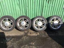 Fiesta Borbet Aluminium Wheels with Tyres