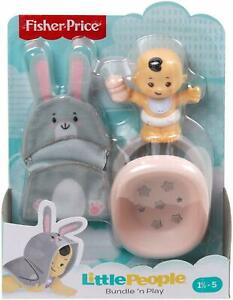 Little People Bundle 'n Play Baby FIgure and bouncer *pkg damage*