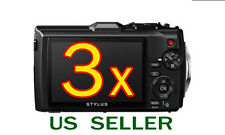 3x Olympus Tough TG-4 TG4 Digital Camera LCD Screen Protector Guard Shield Film