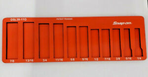 Snap On Tools Magnetic Organiser 11PC DSL38-110