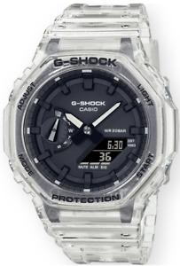 Casio G-Shock Clear Transparent GA2100SKE-7A Digital-Analog 2021 Brand New