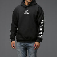 Saint I feel like pablo Tour Black hoodie as worn by Kanye West