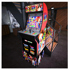 X-Men vs Street Fighter Arcade1Up Gaming Cabinet Machine w/ Matching Riser New