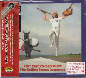 THE ROLLING STONES GET YER YA YA'S OUT JAPAN SACD UIGY 7018 OBI SEALED