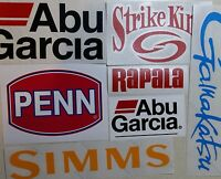 Best Selling Stickers LOT of  (7) Fishing Decals