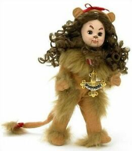 """Madame Alexander 8"""" WOZ Cowardly Lion #46330 Doll - New In Box - Retired"""