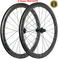 Disc Brake Road Bicycle 38/50/60/88mm Carbon Wheels Wheelset Center Lock/6 Bolt