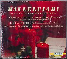 Hallelujah! A Classical Christmas Vienna Boys Choir Handel's Messiah 3cd box set