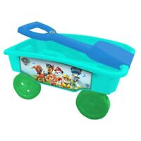 Paw Patrol Caddy Trolley Pull Along Wagon Toys Indoor Outdoor Garden Toy - New