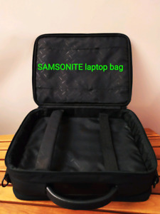 Samsonite laptop bag - brief case