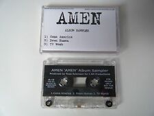 AMEN 3 TRACK ALBUM SAMPLER CASSETTE TAPE PROMO COMA AMERICA ROADRUNNER UK 1999