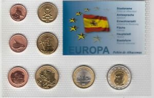 PENON DE ALHUCEMAS 8 DIF UNC SET 1 CENT - 2 EURO 2012 YEAR PATTERN ESSAI PROVA