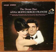 SERGIO FRANCHI / ANNA MOFFO - THE DREAM DUET  1963 - POP MUSIC RECORD LP