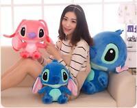 Giant Disney Blue Lilo Stitch Plush Stuffed Animal Toy Doll Kids Christmas Gift