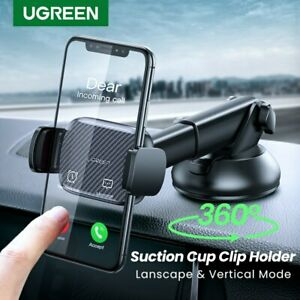 Ugreen Car Windshield Dashboard Phone Holder Mount Stand For 4.7-6.5 inch Phone