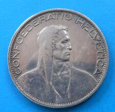 Suisse Switzerland 5 francs 1925 B km 38