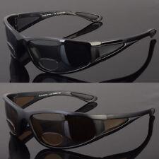 0c4a9c09efc Polarized bifocal sunglasses reading glasses power strength safety drive  fish