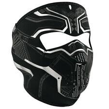 Black Panther Protector Full Face Neoprene Reversible Winter Motorcycle Ski Mask