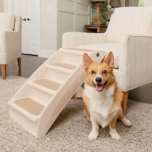 PetSafe CozyUp Folding Pet Steps Foldable Steps for Dogs and Cats