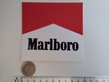AUTOCOLLANT MARLBORO FORMULE 1 RACING PETIT CARRE VINTAGE STICKER DECAL SENNA
