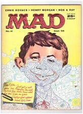 Mad Magazine #41 1958 EC Comics F//VF 7.0