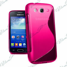 Housse Etui Coque TPU Silicone ROSE Samsung Galaxy Core I8260/ I8262 Dual Sim