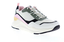 Skechers Rovina Chic Shattering 155011 Womens White Mesh Low Top Sneakers Shoes