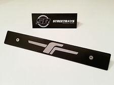 [SR] Front License Plate Delete [JDM Forester 'F'] Fill Laser Engraved Logo