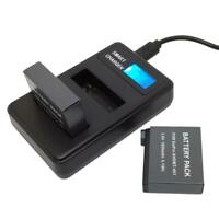 AHDBT-401 LCD Dual Port USB Battery Charger for GoPro Hero 4 Action Camera AU