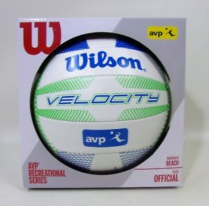 WILSON Velocity Volleyball AVP Recreational Series Official Pro Size Green