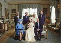 ~~~ ORGINAL~~~ POSTKARTE ~~~ aus London Kate Herzogin von Cambridge mit Familie