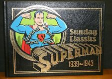 SUPERMAN - THE SUNDAY CLASSICS - STRIPS 1-183  1939-1943 - LEATHER 1998 EDITION