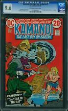 Kamandi # 2 us dc 1972 Jack Kirby Story & Art nm + cgc 9.6 2nd highest