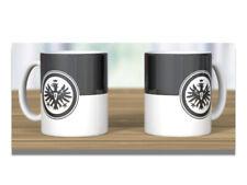 Eintracht Frankfurt Tasse Kaffeebecher Logo schwarz/weiß