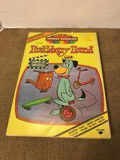Vintage 1977 Hanna-Barbera Huckleberry Hound Flip-N-Fun Coloring Book