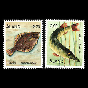 Aland 1990 - Fish Marine Fauna - Sc 43,48 MNH
