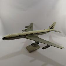 Vintage Air France Airplane Travel Agency Display Boeing 707 F-BHSB MCM w/ Stand