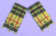 Men's Kilt Sock Flashes Macleod Of Lewis Tartan/kilt Hose Flashes/kilt Flashes