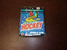 1990-91 BOWMAN HOCKEY CARD WAX BOX 36 UNOPENED PACKS