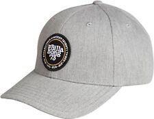BILLABONG MENS BASEBALL CAP.WALLED SNAPBACK GREY COTTON CURVED PEAK HAT 8W 1 9
