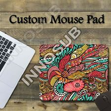 """Abstract Psychedelic Flower Cool Mouse Pad 1/4"""" x 8.65"""" x 7"""" Gaming Mousepad"""
