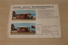 177955) Eifelland Wohnwagen Vorzelt Prospekt 198?